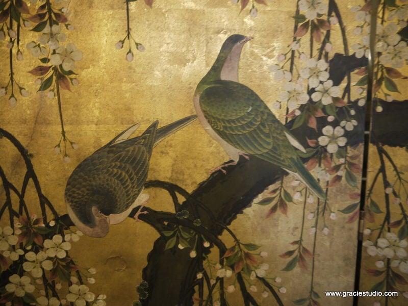 Antique Japanese Screen 4