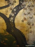 Antique Japanese Screen image 5