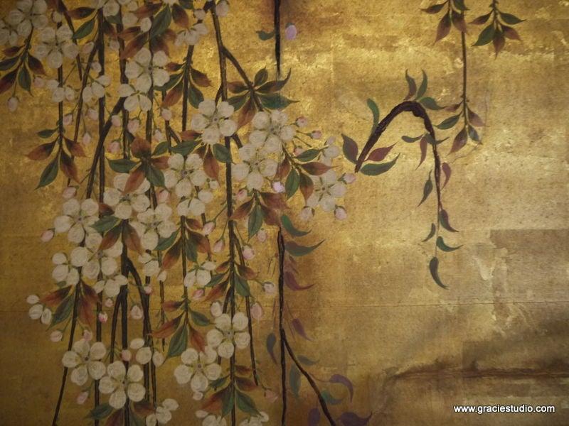 Antique Japanese Screen 6