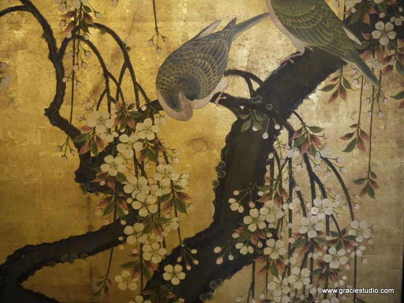 Antique Japanese Screen 8