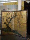 Antique Japanese Screen image 9