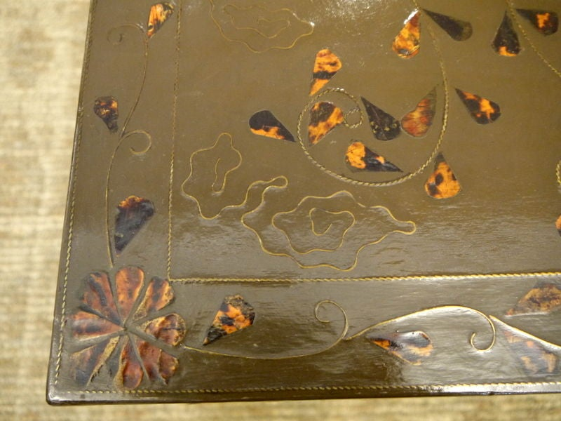 Korean Lacquer Table In Good Condition For Sale In New York, NY
