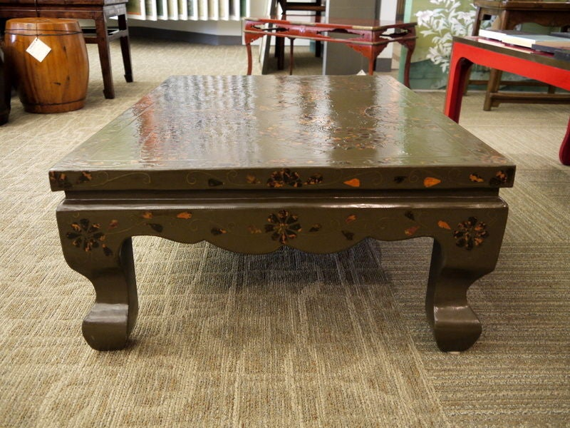Korean Lacquer Table For Sale 2