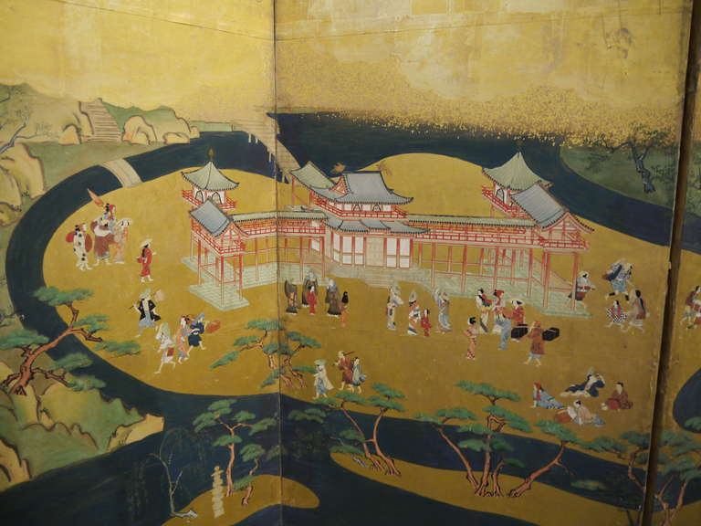 an analysis of samurai battle scenes painted in the 19th century Celebrating narrative art  show narratives of hunting or battle, and narrative art is also  the 19th century are not really scenes of.