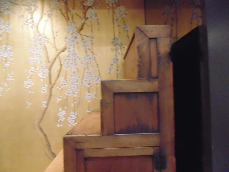 Meiji Period Japanese Staircase Tansu For Sale 2