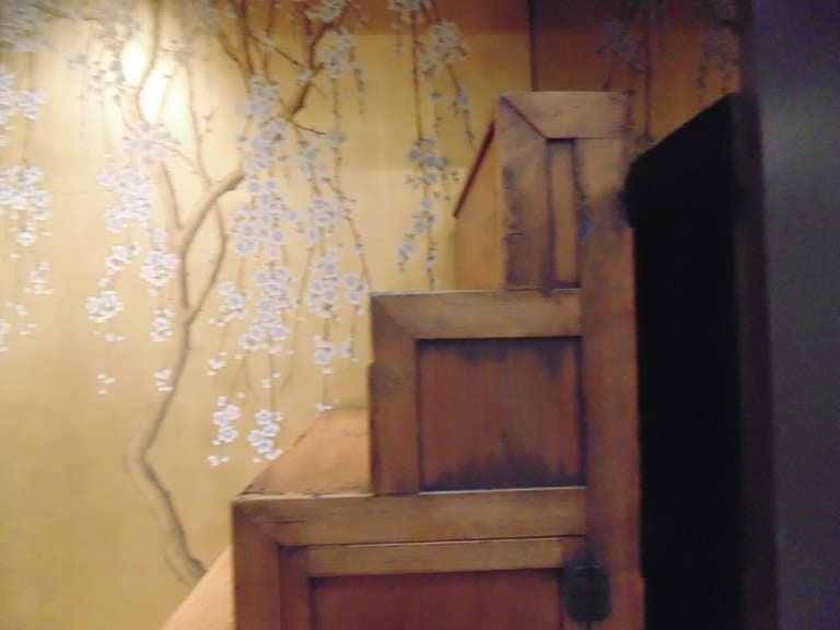 Meiji Period Japanese Staircase Tansu 7