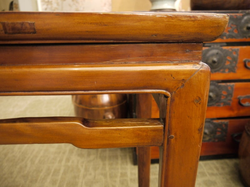 Wood Chinese Console Table For Sale