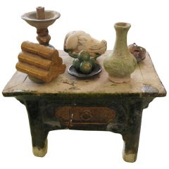 Chinese Pottery Table