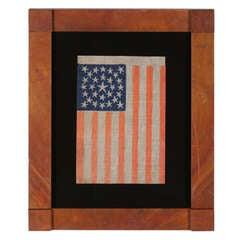 29 Stars, Iowa Statehood, Pre-Civil War, Medallion Configuration Flag
