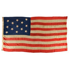 U.S Navy Small Boat Ensign Flag with 13 Hand-Sewn Stars