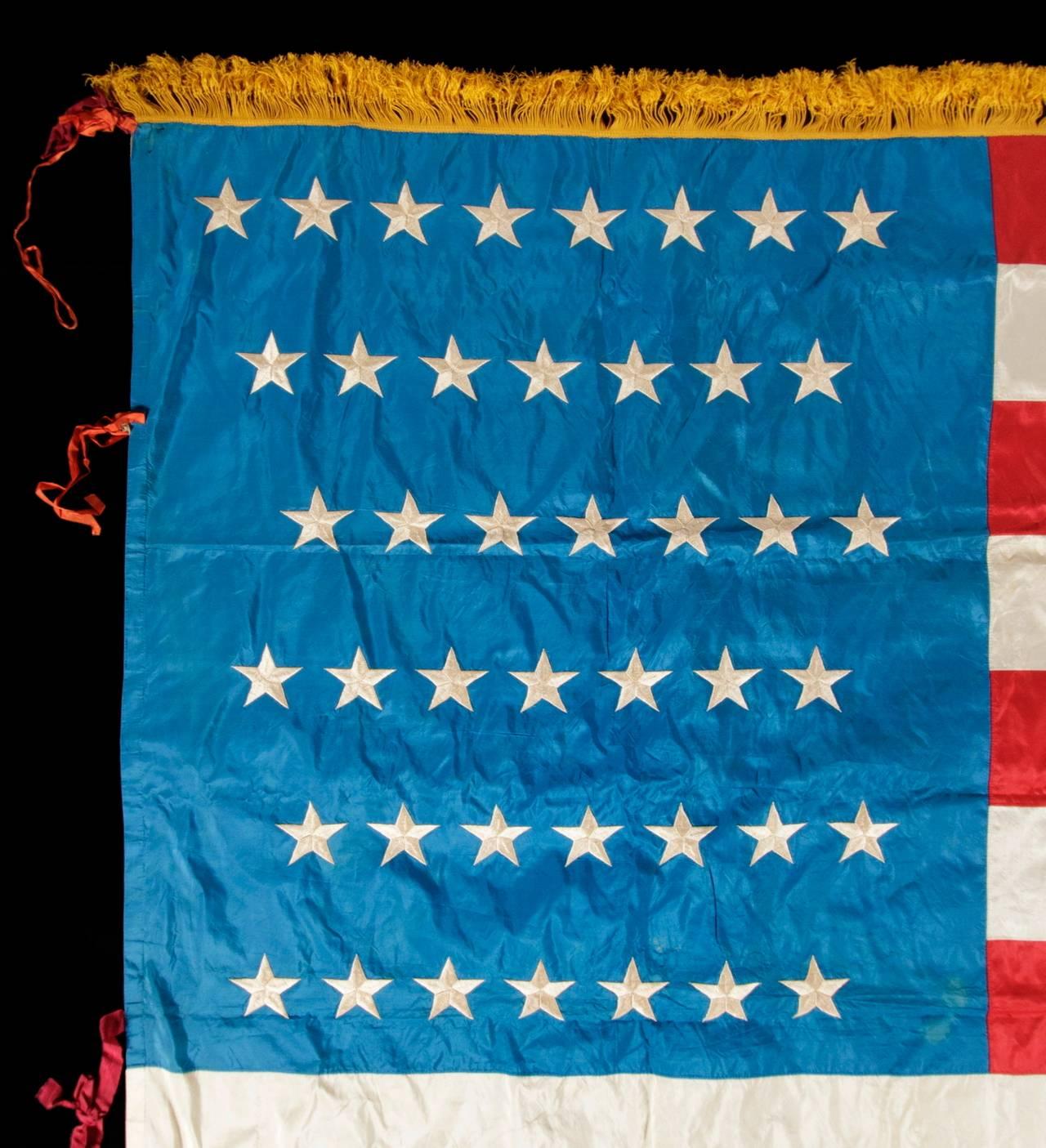 43 Star, Idaho Statehood, American Flag image 3