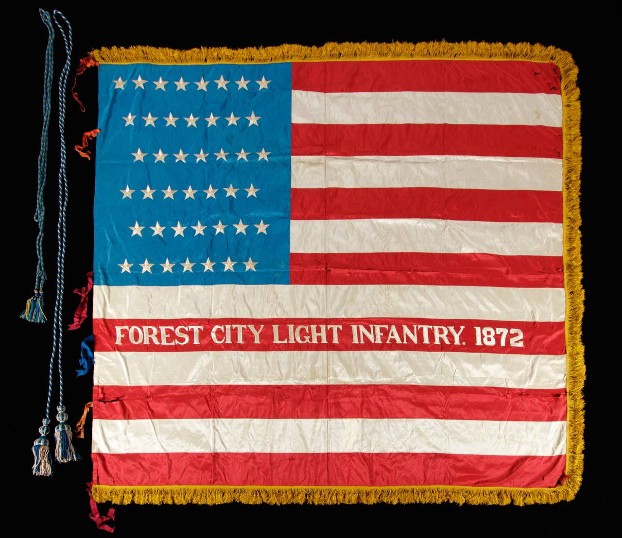43 Star, Idaho Statehood, American Flag image 2