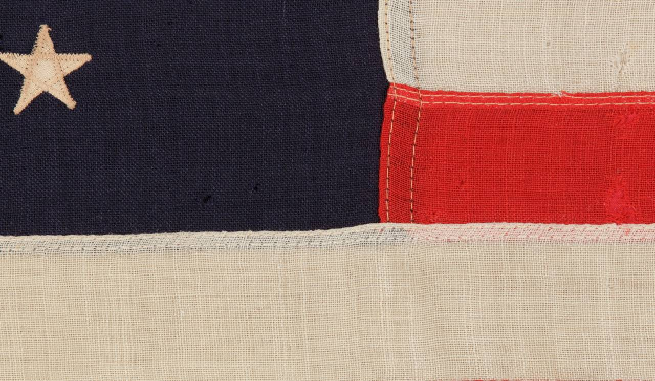 Late 19th Century 13 Star Third Maryland Pattern Flag