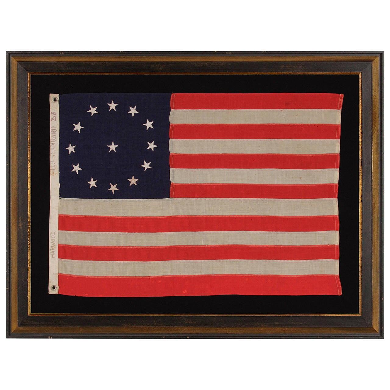 13 Star Third Maryland Pattern Flag