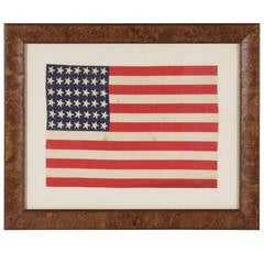 42 Star Flag with Canted Stars, Never an Official Star Count