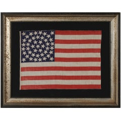 Antique American Flag With 45 Stars