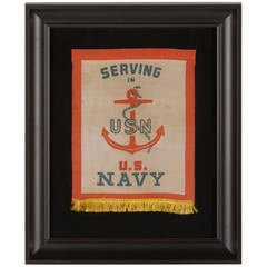 WWII Son-in-Service Banner for U.S. Navyman