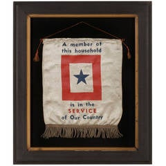WWII Son-in-Service Banner