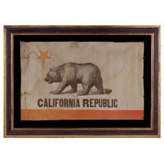 California State Flag, An Especially Early Example