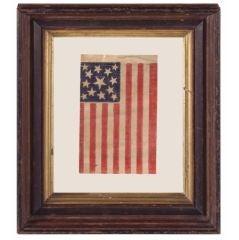 13 Stars, Civil War - Centennial Era, Medallion Pattern