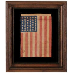 39 Star Antique Flag, Never An Official Star Count
