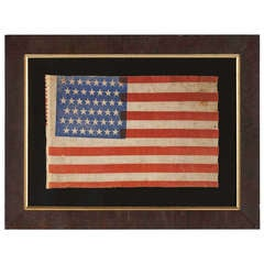 45 Star American Parade Flag With Interesting Features