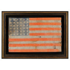 36 Stars 1864-67 Large Scale American Parade Flag of the Civil War Era
