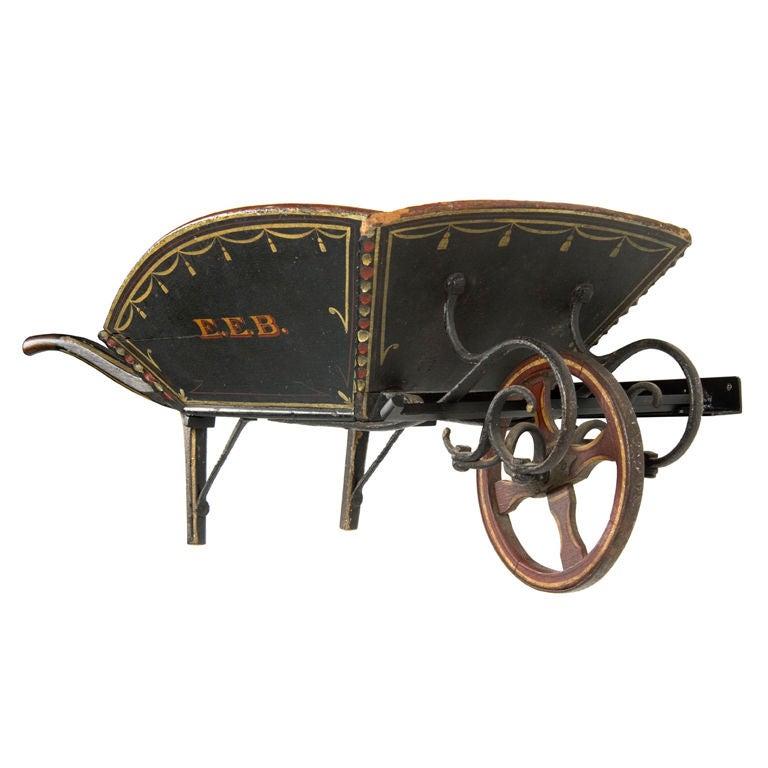 Tremendous Child's Wheelbarrow from Maine