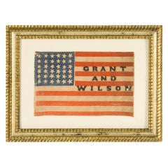 Extremely Rare, 36 Star, Overprinted Parade Flag