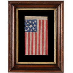 13 Stars, 1861-1876 (Civil War-Centennial), Medallion Pattern Flag