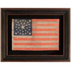 30 Star, Pre-Civil War, Medallion Configuration Flag