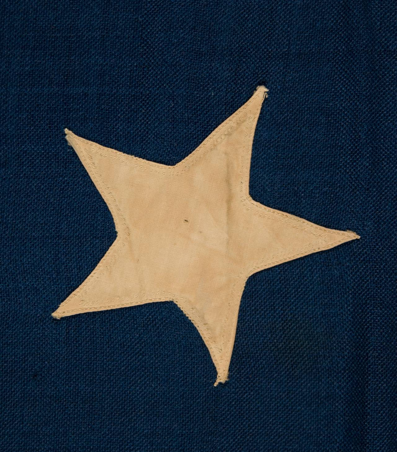 "36 Star Single-Appliqued Flag, Signed ""Christy"" 4"