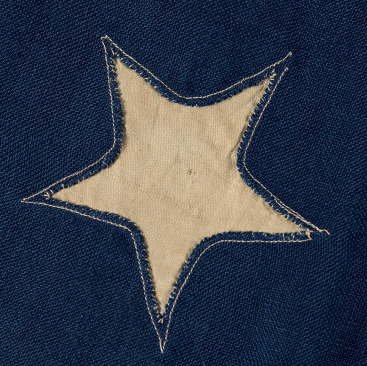 "36 Star Single-Appliqued Flag, Signed ""Christy"" 7"