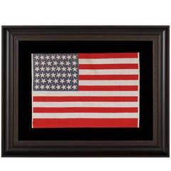 46 Star, Oklahoma Statehood, Antique American Flag
