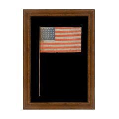 34 Stars, 1861-63, Civil War Period, Global Rows� Design: