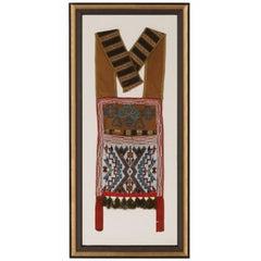 Algonquian Menominee Beaded Native American Bandolier Bag