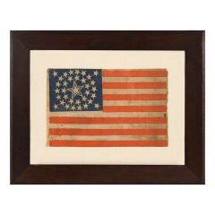 34 Stars In A Medallion Configuration American Flag