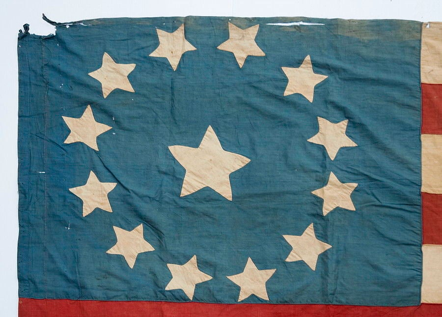 13 Star Flag In The 3rd Maryland Pattern At 1stdibs
