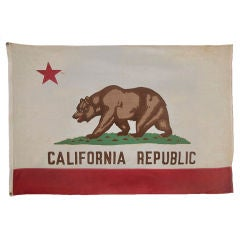 California State Flag, 1940-1950, Made By Paramount