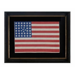 38 Star Flag In An Extremely Rare Pattern