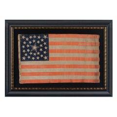 31 Star Flag, Pre-civil War, California Statehood