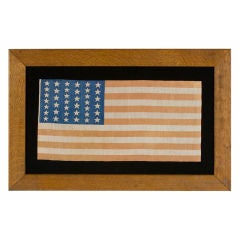 39 Star Flag, Elongated Form With Two Sizes Of Stars