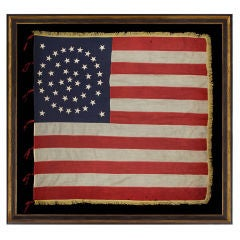 Rare And Exceptional 44 Star United States Infantry Battle Flag