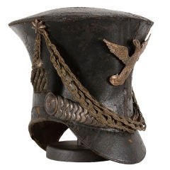 "American Military Bell Crown Shako or ""Tar Bucket"" Cap"