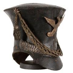 "Amerikanische Militärglocke Krone Shako oder ""Teereimer"" Kappe"