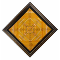 Cigar Silk Piecework Game Table Cover