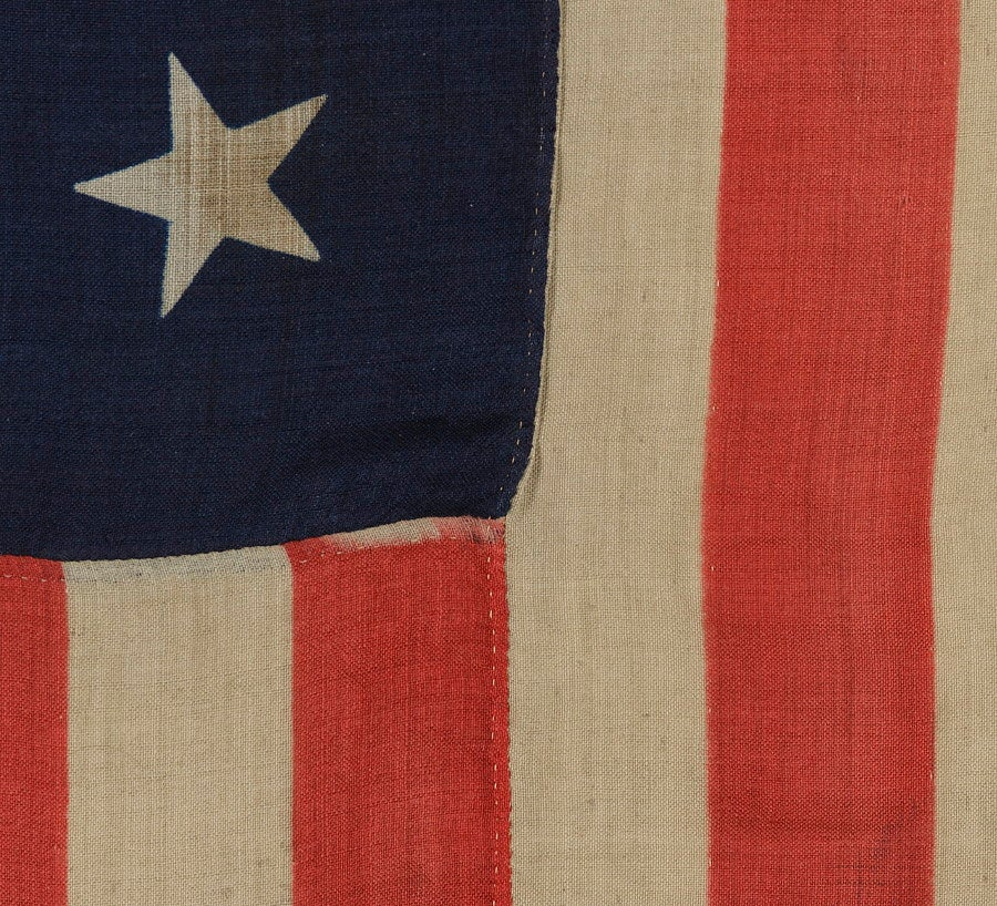 13 Star U S Navy Small Boat Ensign Flag At 1stdibs