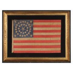 35 Stars, 1863-65, Civil War Period Flag