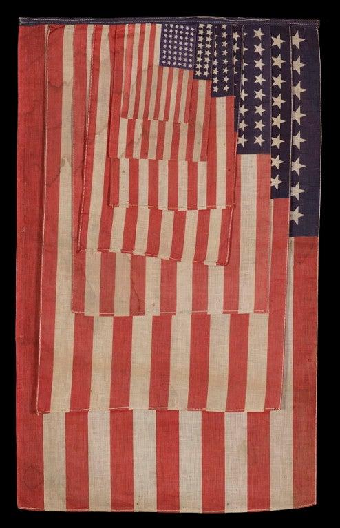 American 48 Star Parade Flag Salesman's Sample