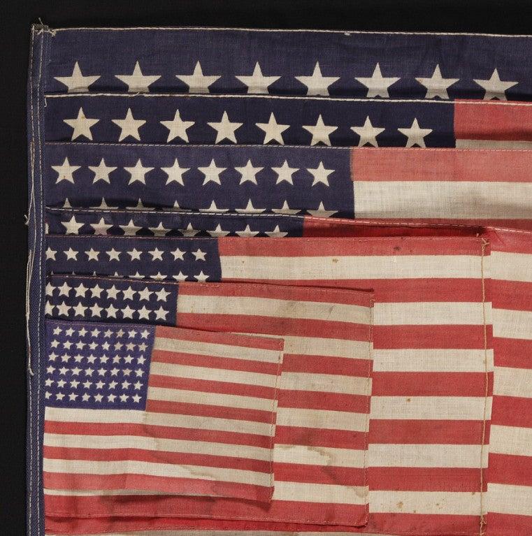 20th Century 48 Star Parade Flag Salesman's Sample